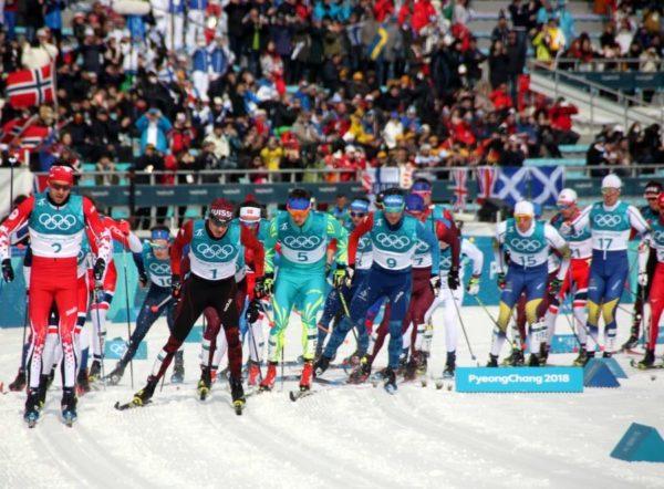 Зимние Олимпийские игры 9—25 февраля 2018 в Корее / Лыжная гонка 50км