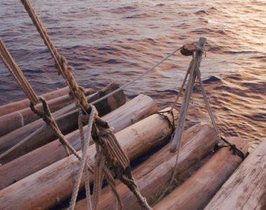 """Международная экспедиция """"Кон-Тики2""""  в Тихом океане."""