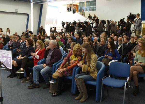 Пресс-конференция российского путешественника Федора Конюхова