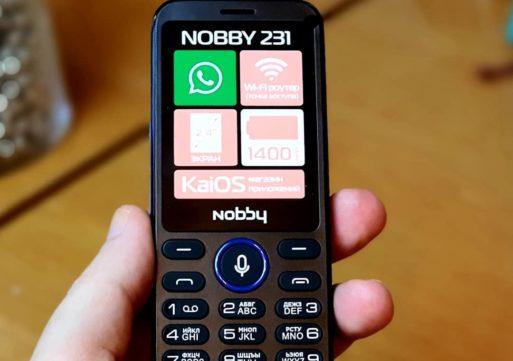 Вышел новый кнопочный смартфон от российского бренда Nobby