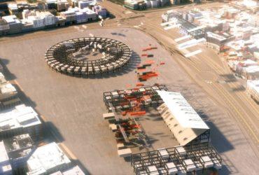 Модульная арена для ЧМ-2022 строится в Катаре
